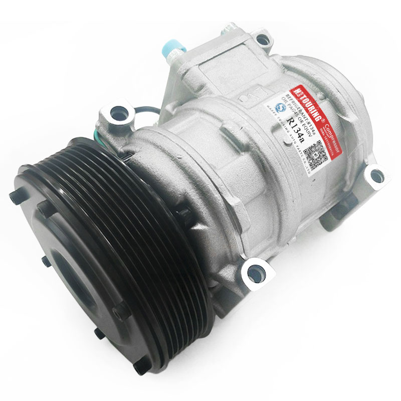 AC Compressor RE69716 for John Deere Tractor 7600 7700 7800 7210 Denso 10PA17C