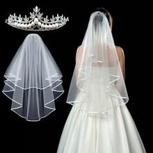Veil Shoulder-Strap Bachelor Bride Lace Party-Favors Wedding Etiquette Unilateral Two-Piece