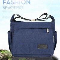 Men's satchel leisure sports nylon single shoulder satchel light Oxford backpack shoulder bag messenger bag women's sports