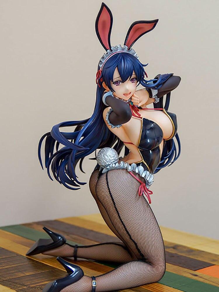 Native BINDing Sexy Sigures Anime Figure Toys Creator's Opinion Ayaka Sawara Sexy Bunny Girls PVC Action Figure Model Toys Doll