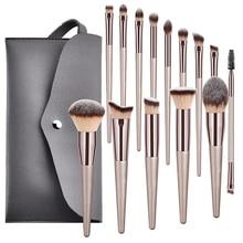 10/14 pcs/lot makeup brushes Set with bag Eye Shadow Blendin