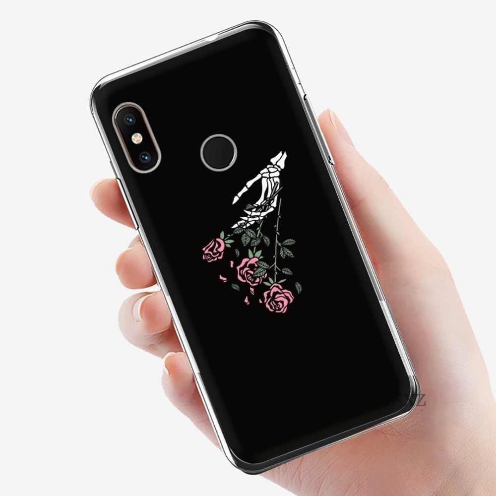 Ốp Lưng Điện thoại Xiaomi Redmi 3 3S 4 4A 4X5 5A 6 7 Đi 6A S2 K20 pro Prime Plus Màu Đen Đồng Hồ MỘT Thần Chết