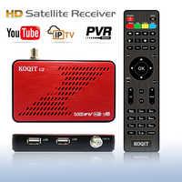 KOQIT-Receptor Satélite DVB S2, decodificador de IPTV, DVB-S2, buscador de satélite, IKS/CS, Auto Biss VU, DVBS2, Scam, Youtube