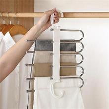Pants Hanger Multi-Functional Organizer Accessories-Tools Dry-Rack Household