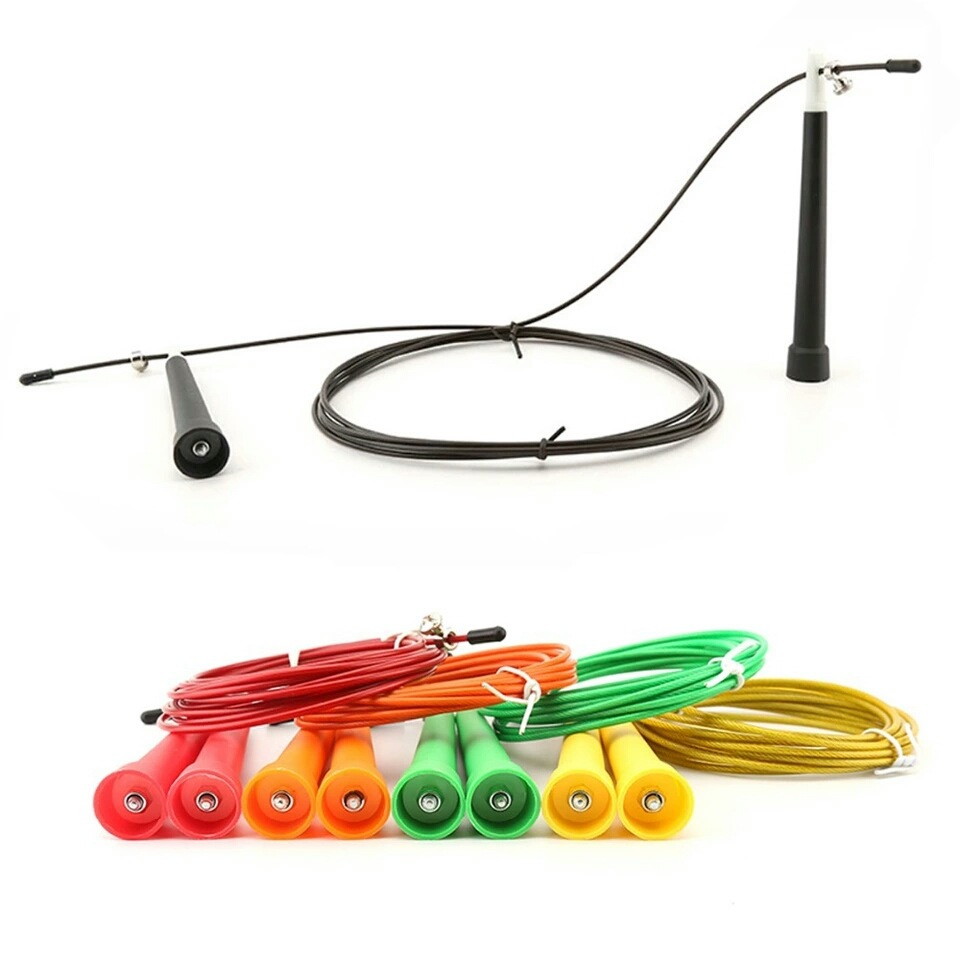Jump Rope Fitness Equipment Bearing Training Jump Rope Steel Wire Speed Skipping Steel Wire Jump Rope