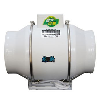 4 inch 8 inches Boost Metal Pipeline Exhaust Fan Super Sound-Off Large Air Volume Strong Waterproof Ventilator