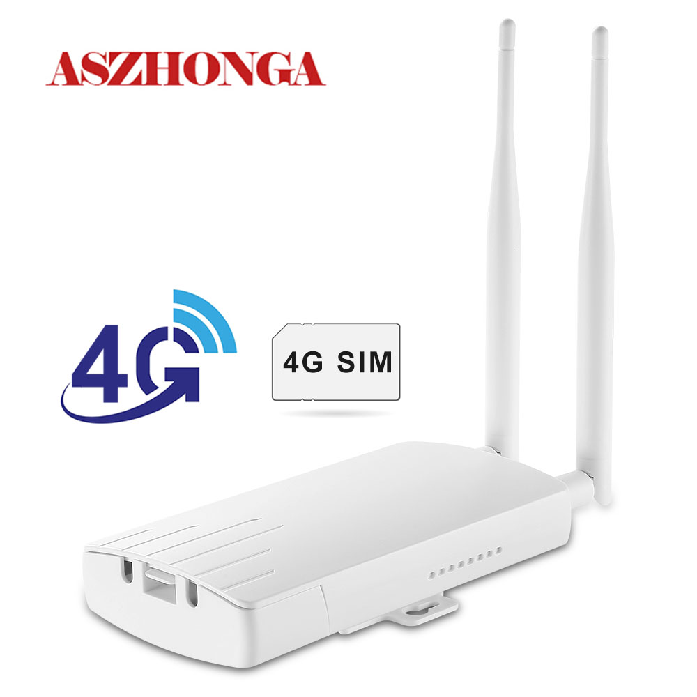 Wireless 3G 4G SIM Card Router For Wifi Camera 2.4G Repeater 2Pcs 5dbi Anternna 802.11b Wi-Fi Extender GSM/WCDMA/FDD-LTE/TDD-LTE