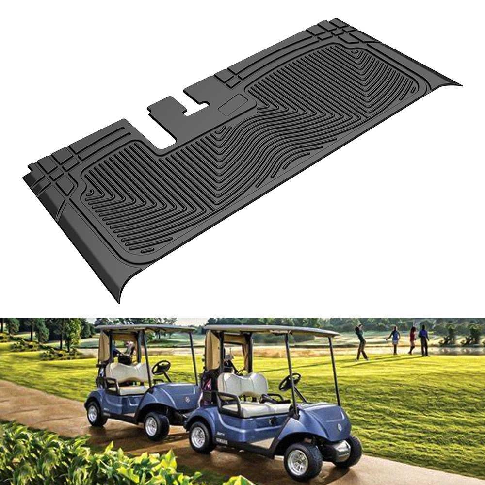 Kemimoto Golf Cart Floor Mat For Yamaha Drive Rugged Protects