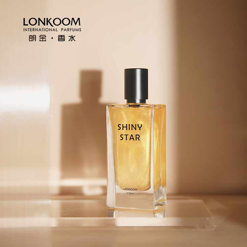 LONKOOM Original Marke frauen parfüm 50ml GLEAM STERN EDT rosa shinny duft floral-fruchtig düfte
