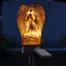 Simple Angel Solar Lights for Garden Decoration Waterproof LED Lamps Landscape Lawn Light Outdoor Lamp