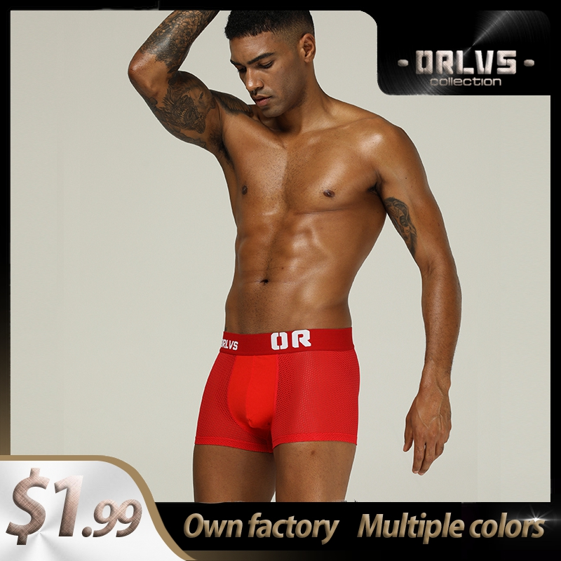 Cotton Patchwork Comfortable Sexy Men Underwear Boxer Shorts Popular Underpants Mens Boxershorts Underware Boxers Cueca