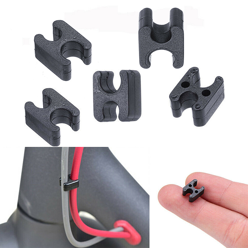 Replacement Scooter Clip Repair Mount Skateboard Wire Clip Spare For Xiaomi Mijia M365 Electric Scooter Durable Cable Clips