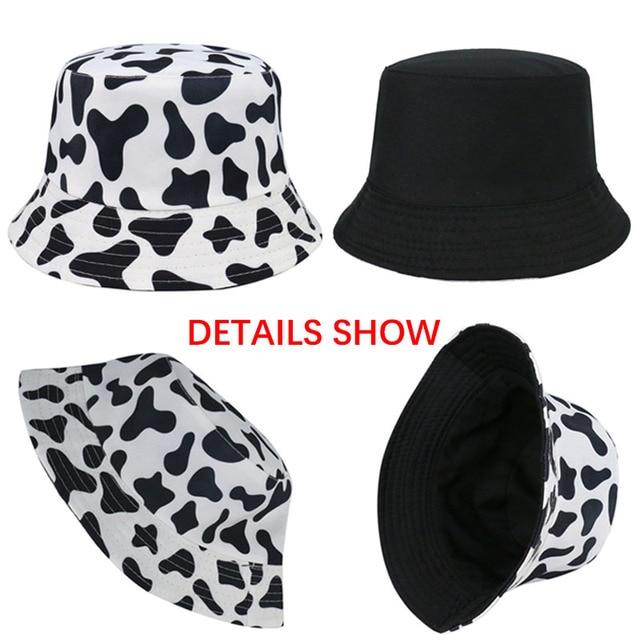 Cow Pattern Bucket Hat 5