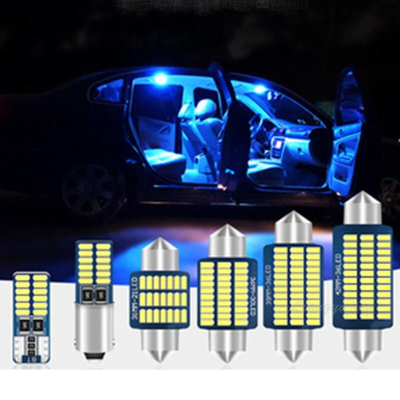 LED iç ışık kubbe harita lisans ışık kiti Mercedes Benz C sınıfı için W202 W203 W204 S202 S203 S204 C203 c204 1993-2014