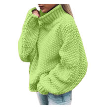 Womens Off The Shoulder Sweater Casual Warm Brief Polyester Sweaters Knitted Loose Long Sleeve Korean Style Loose Twist Knitted(China)