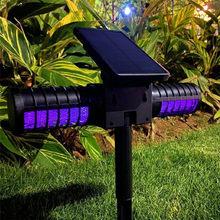 2021 Ultrasonic Solar Pest Repeller Animal Pest Mouse Repeller PIR Sensor Garden Bird Cat Dog Fox Repellent Keep Animals Away