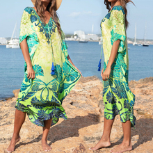 """Хлопковое длинное пляжное платье, пляжная одежда для женщин, парео, купальник, накидка, пляжный купальник """"саронг"""", кафтан, пляжный# Q845"""
