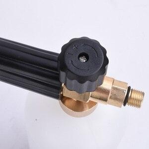 """Image 2 - Spieniacz mydła wysokociśnieniowy spieniacz dysza filtra opryskiwacz Generator pistolet do piany dla Karcher K2/szybkie złącze Cannon 1/4 """"broń Snow Lance"""
