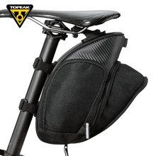 Сумка для подседельного штыря велосипеда Topeak MONDOPACK, расширяемая сумка для горного велосипеда, шоссейный велосипед, задняя Сумка, вместитель...