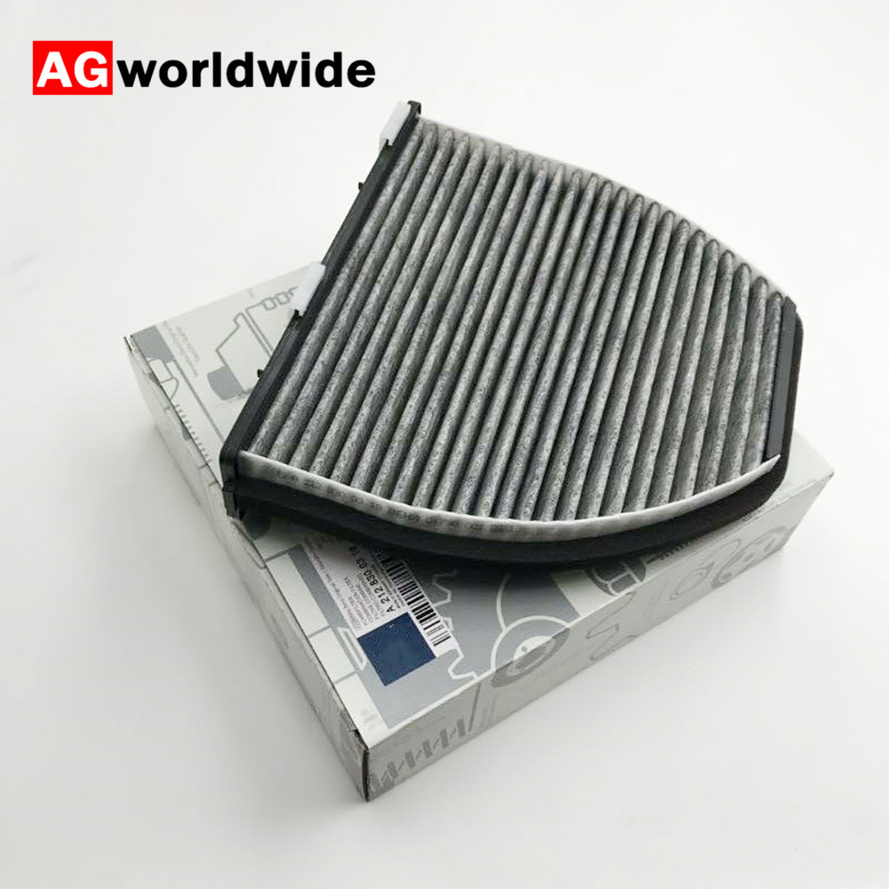 Activated Carbon Cabin Air Filter For Mercedes-Benz W204 W212 W211 C207 2128300318 Car Replacement Cooling System Accessories(China)