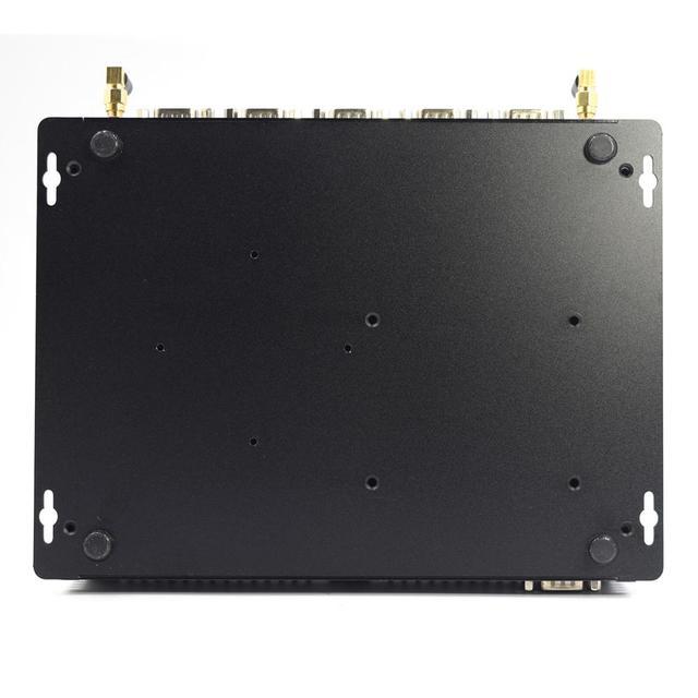 2020 newest HYSTOU type-c industrial Mini Pc i7 8565U i5 8265U i3 8145U dual DDR4 HD EDP @60HZ support 3 display SIM Port pc 6