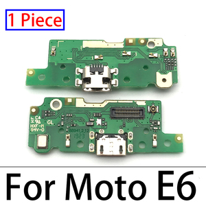 Image 5 - 100pcs,USB Charger Charging Dock Port Connector Flex Cable For Motorola Moto E3 E4 E4T E4 E6 E7 E5 G8 Plus E5 G8 Play Go Power