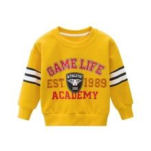 Children Clothing Sweaters Fleece Baby Boys Cotton Plush Brand 4037 52 Tops Autumn Casual