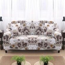 Kleurrijke Geometrische 1/2/3/4 Zits Bank Cover Strakke Wrap All Inclusive Sectionele Elastische Seat Couch Covers kussenovertrekken Kerst