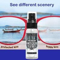 Anti-Fog Spray Eyeglass Lens Cleaner Car Windscreen Goggles Long Lasting Defogger Anti Fog Spray Weather Protection 32 ml 5