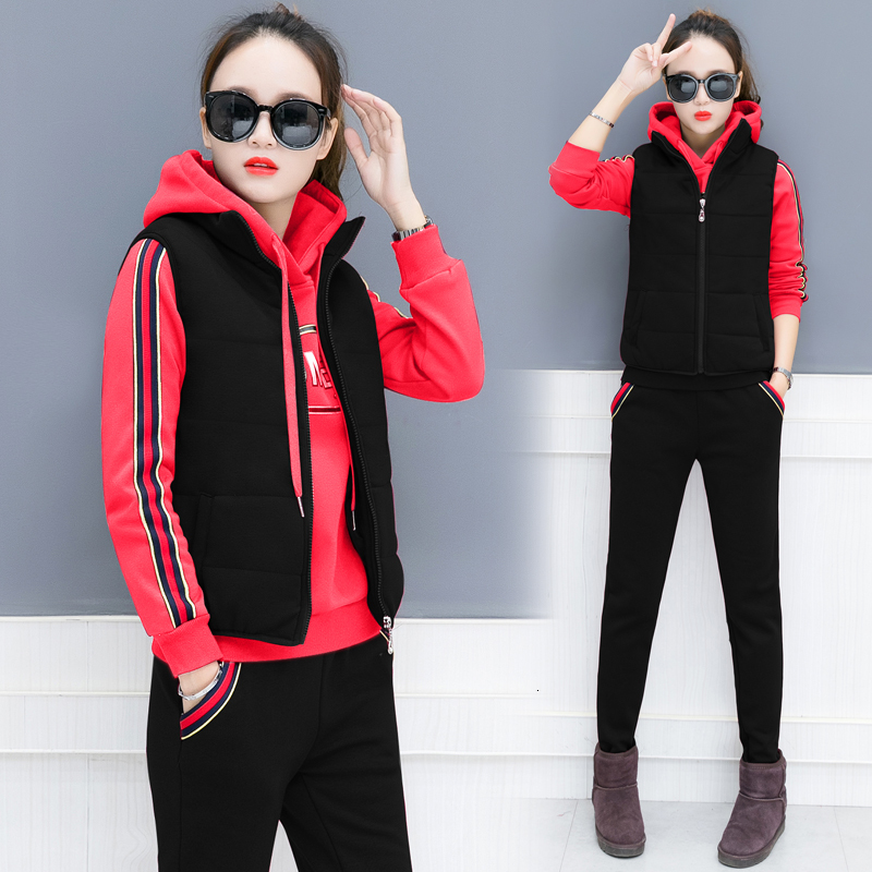 Plus Size Warm Sweater 3 2 Piece Set Woman Tracksuit Outfits Matching Co-ord Top Pant Suits Winter Autumn Long Sleeve Clothing