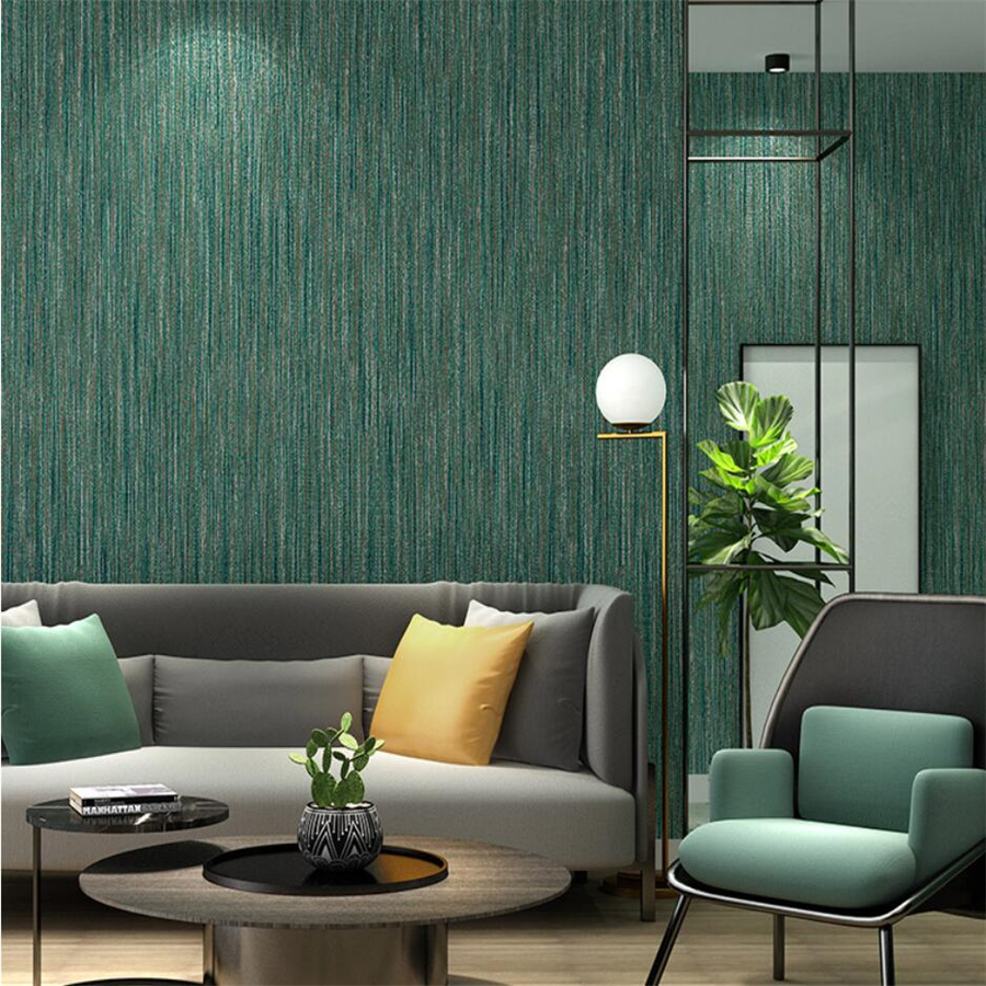 Simple Modern Pure Pigmented Japanese Linen Wallpaper Blue Green Nordic Style Papel De Pared Living Room Bedroom Fresh Wallpaper Wallpapers Aliexpress