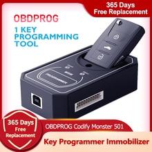 OBDPROG 501 Key Programmer Immobilizer EEPROM Car Key Pin Code Reader Diagnostic Tool Key Programmer Car Diagnostic Tool