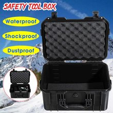 Waterproof Safety Tool Case Portable Sealed Instrument Tool Box Equipment Impact resistant Toolbox Suitcase Tool Container(China)