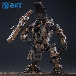 Экшн-робот JOYTOY 1/18 Free Man, стальной костяной песок, тяжелая огненная сила, Коллекционная модель, игрушки, подарок на Рождество