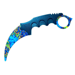 13cm X 6cm for CS GO Auto Claw Knife Karambit Knife Laptop Suitable and Smooth Clean Surface Car Sticker