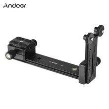 Andoer L200 Telelens Ondersteuning Lange Lens Houder Beugel Compatibel voor Arca Swiss Sunwayfoto RRS Benro Kirk Markins Mount