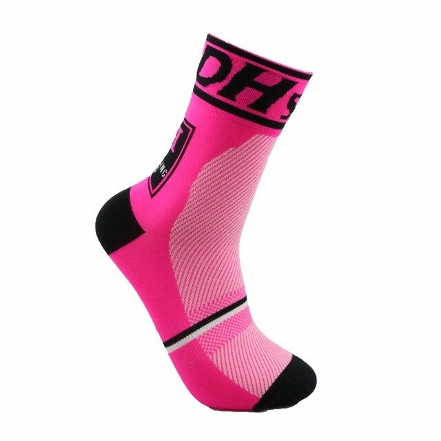 Alta qualidade marca profissional ciclismo esporte meias proteger pés respirável wicking meias ciclismo meias meias bicicletas 3