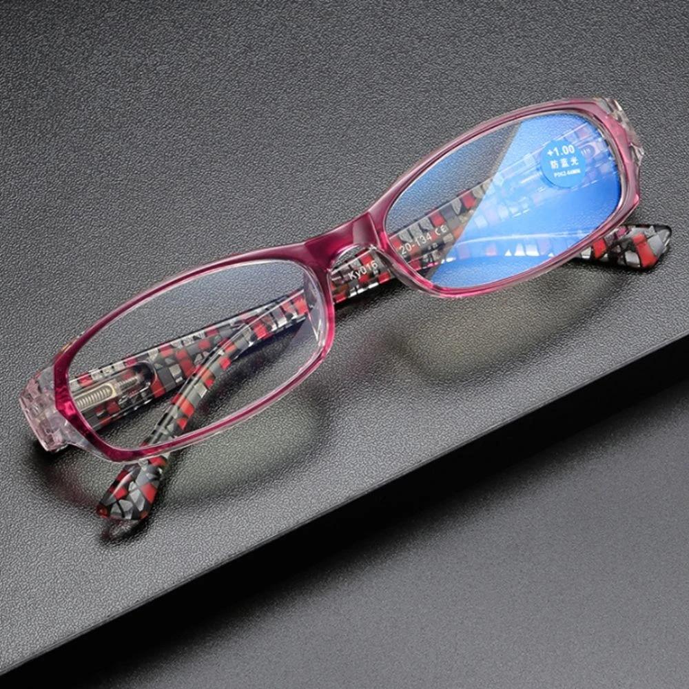 New Fashion Anti Blue Light Reading Glasses Urltra Light Frame Eye ...