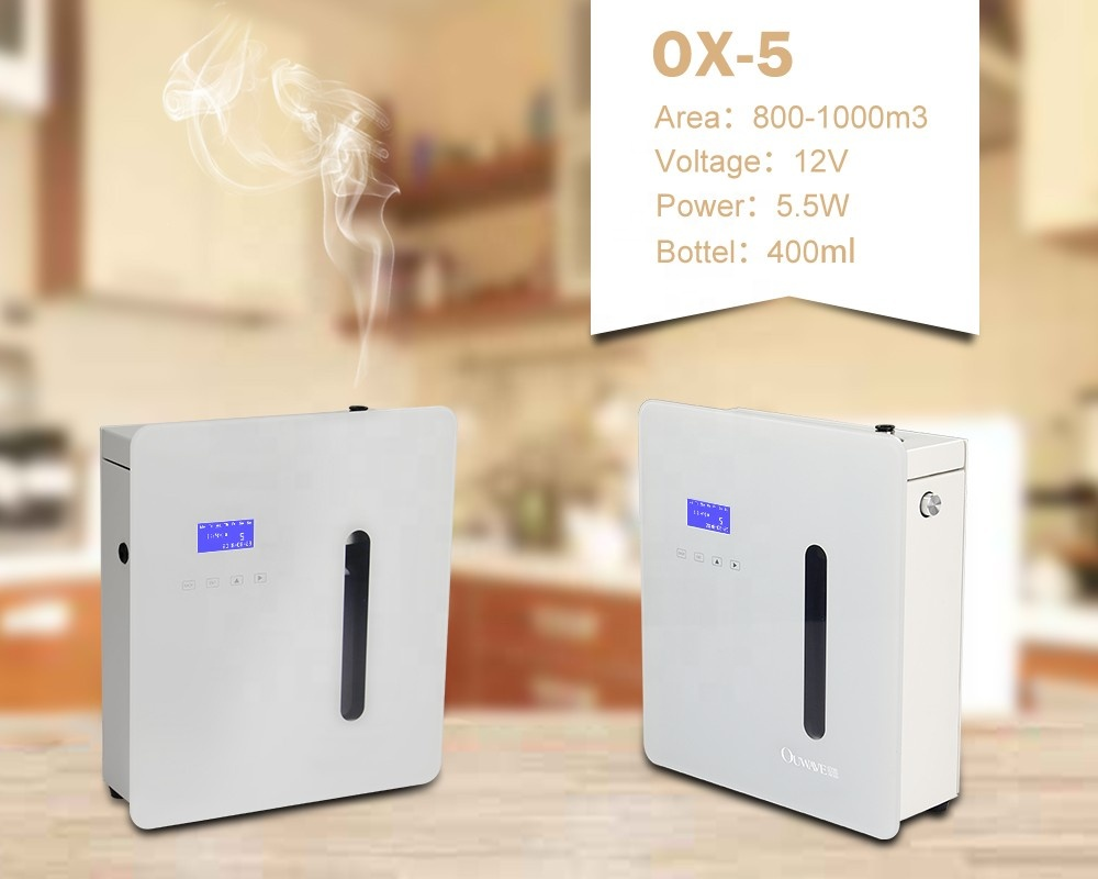 Ouwave Metal Fragrance Nebulizing System diffuser Best Scent for Home or Commercial
