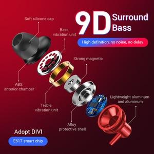 Image 3 - Bluetooth 4,2 Kopfhörer Drahtlose Magnetische Neckband Ohrhörer Freisprecheinrichtung Sport Stereo Ohrhörer Für huawei Samsung Xiaomi Mit MIC