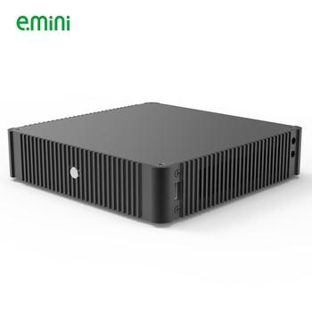 E.mini N44 Thin Mini-ITX Case in Aluminum Slim HTPC gaming Computer 1