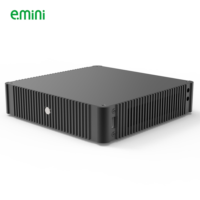 E.mini N44 Thin Mini-ITX Case in Aluminum Slim HTPC gaming Computer 1