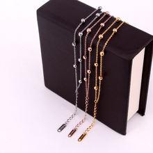 Многослойные браслеты из цепей и бусин аксессуары для женщин