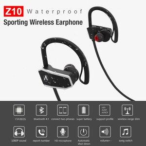 Image 2 - AHOLIC Z10 Sport Bluetooth Earphones HD stereo Noise reduction heavy bass Seamless Waterproof earplugs headphones