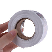 good quality 500 Pcs Laser Hart Briefpapier Stickers 1 ''Ronde Papieren Stickers Scrapbooking Party Handgemaakte Label(China)