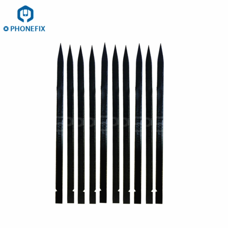 PHONEFIX 5Pcs Black Plastic Spudger Set Durable Anti-static Spudger For IPhone Repair IPad Tablet Phone Opening Repair Tools