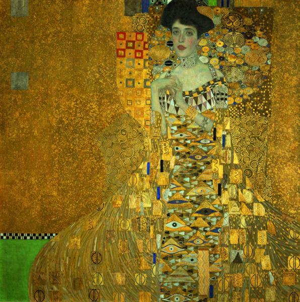 Portrait-of-Adele-Bloch-Bauer-I-Murals-Gustav-Klimt-Painting-Art-Wallpaper-Custom-Large-photo-wallpaper