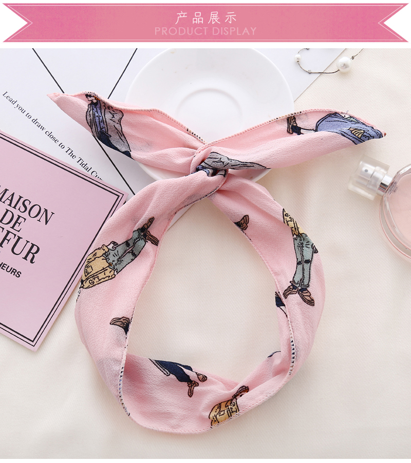 ChenYan Fashion Hot Headband Girl Lovely Headbands Fabric Printing Hairband FD9