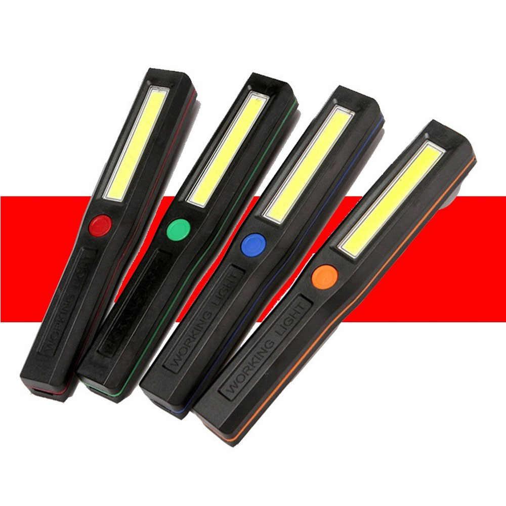 Tragbare Taschenlampe COB Led-leuchten Flash Lichter Mini Arbeit Licht Camping Licht Taschenlampe Magnetische Basis Wartung Taschenlampe