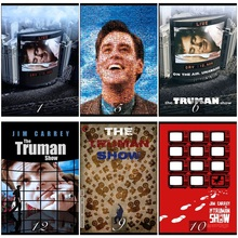 The Truman Show Movie Home Decorative Painting White Kraft Paper Poster 42X30cm where the wild things are movie home decorative painting white kraft paper poster 42x30cm